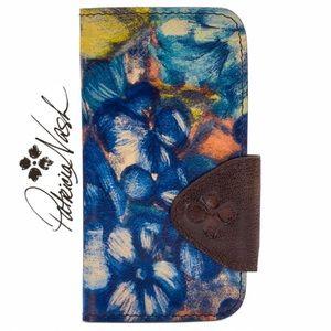 Patricia Nash Blue Clay Brenna Phone Case / Wallet